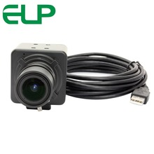 ELP Free driver High resolution HD 5MP CMOS OV5640 5-50mm Manual Varifocal Mini Box 5MP USB Camera for Android Linux Windows(China)