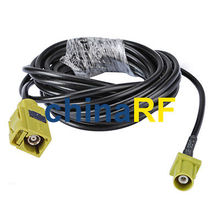 "Satellitic Radio antenna Extension cable Fakra ""K"" female to Male pigtail 15cm"