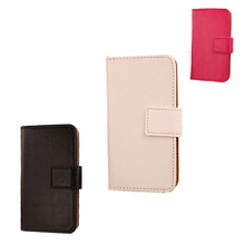 LINGWUZHE Card Slot Holder Mobile Phone Accessory Flip Design PU Leather Cover Case For Argos Bush Spira D1 5.5 4G