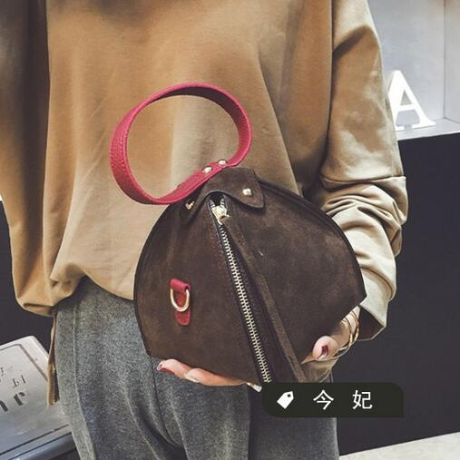 2017 Fall fashion new handbags High quality PU leather Womenbag Korean hit color triangle package Stereotyped mini Female bag<br><br>Aliexpress
