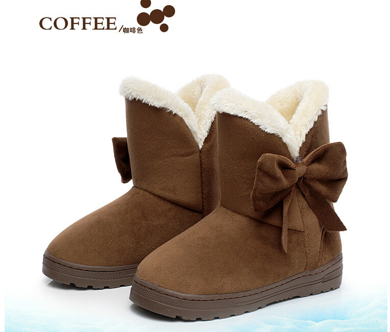 2015 hot Women snow boots The new warm snow boots Warm winter fashion snow boots High-quality warm shoes<br><br>Aliexpress