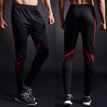 football pants thin legs soccer tracksuit  jogging soccer pants Men soccer jersey soccer training pants with  pockets