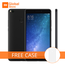 "Free Case! Global Version Xiaomi Mi Max 2 Max2 Mobile Phone 4GB 64GB ROM Snapdragon 625 Octa Core 5300mAh 6.44"" 1920x1080p(China)"