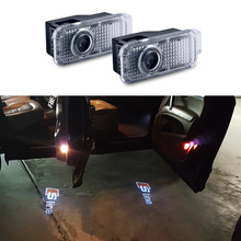 2 x LED Door Warning Light Projector Logo Ghost Shadow For Audi A3 A4 B6 B8 B7 A6 C6 C5 A7 A8 A5 Q3 Q7 Q5 80 TT Sline