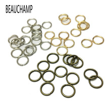 BEAUCHAMP Jump Rings Jewelry Connector Ring Open Loops Hooks Clasp Necklace Bracelet Making Spacer Beads Charms Dangle Findings