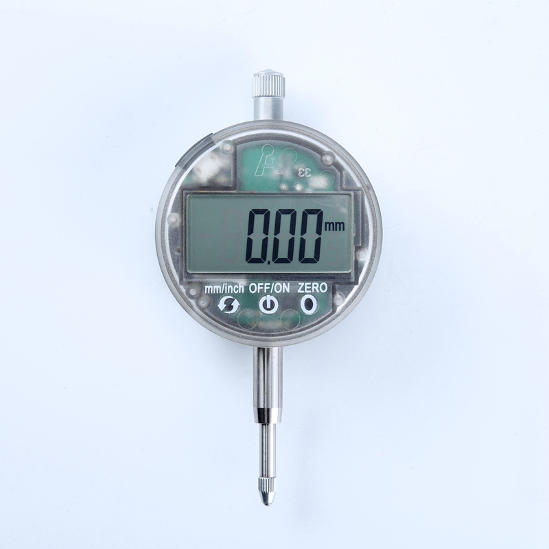 0.01mm Electronic Li-Battery Micrometer 12.7mm Touch Botton USB Dial Indicator Gauge IP54 Oil Proof Digital Micrometers With Box<br>
