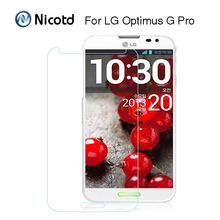 Buy Nicotd 2.5D HD Clear Tempered Glass Film LG Optimus G Pro 1 Gpro F240 F240s F240k E985 E988 Screen Protector Protective Film for $2.19 in AliExpress store