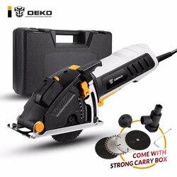 DEKO небольшой круглый заостренный механические инструменты с лазером, 4 лезвия, пыли проход, шестигранный ключ, вспомогательная ручка, BMC BOX э...