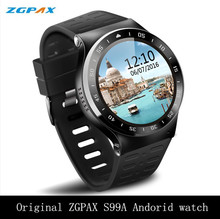 ZGPAX S99A S99 PLUS 3G Smart Watch Android 5.1 MTK6580 Quad Core 512RAM 8GB 5MP Camera GPS WiFi Bluetooth V4.0 SmartWatch