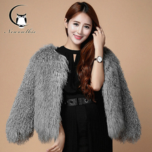 Buy New Style Female Fur Wool Clothes Winter Coats Women Mongolia Sheep Fur Coat Luxury Warm Nature Fur Coat Can Customized for $197.34 in AliExpress store