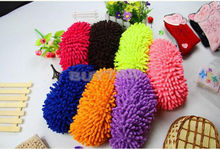 Hot 1 Pcs Dust Cleaner Grazing Slippers House Bathroom Floor Cleaning Mop Cloths Clean Slipper Microfiber Lazy Shoes Cover