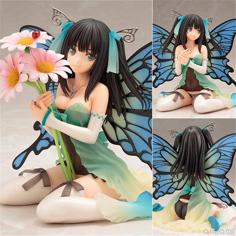 Anime-figures-The-butterfly-beautiful-girl-Sexy-Daisy-Butterfly-sitting-position-ver-PVC-Action-Figure-collection