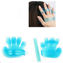 1Pcs Bath Shampoo Scalp Massage Brush Soft Silicone Body Head Hair Massage Comb Brush Health Care Head Massager Relaxation Tools