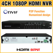 1080P HDMI Output NVR 4CH 8CH 16CH support ONVIF Network Video Recorder CCTV NVR 8 Channel 4 / 16 for IP Camera Security System(China)