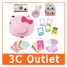 Fujifilm Instax Hello Kitty Accessories Camera Case Shoulder Bag Selfie Lens Colored Filters Photo Album Film Frames Set