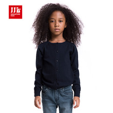 jjlkids girls cardigan sweater brand kids trench knitted jumper kids outwear spring autumn kids coats girls clothing plain cozy(China)