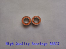 2PCS 5x11x4 Stainless steel hybrid ceramic ball bearing SMR115 2RS CB A7 LD 5x11x4mm Fishing vessel bearing