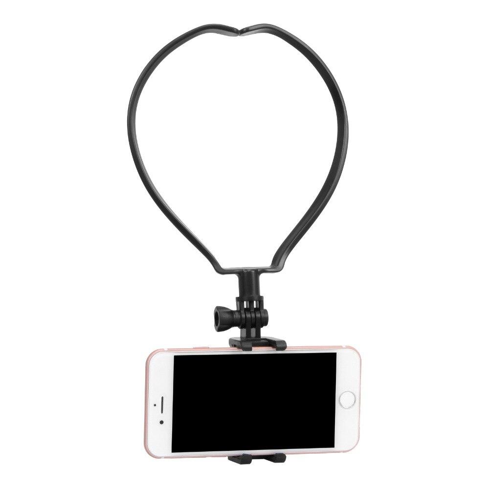 Montaje De Cabeza Montaje De Muñeca Con Clip Para Iphone GoPro Teléfono Celular Selfie Para el Pecho
