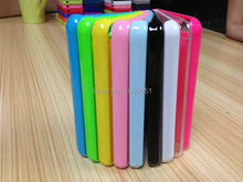 2D Blank Sublimation Phone Case for iPhone 5C Plastic PC cover 20pcs/Lot heat press transfer
