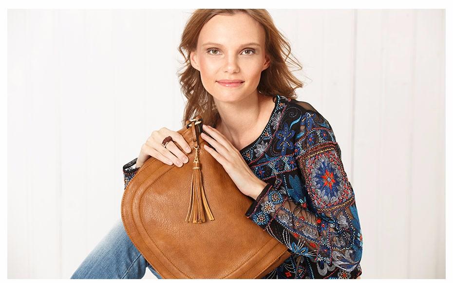 AMELIE GALANTI casual crossbody bag soft cover solid saddle fashion women messenger bags high quality shoulder bag for women (1)