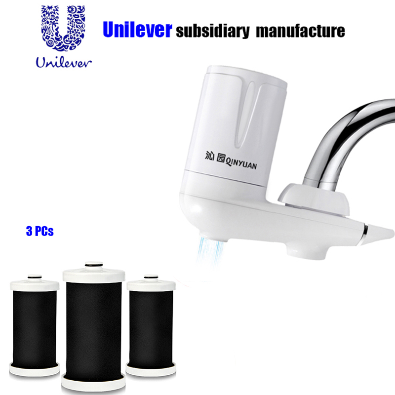 Tap Water Filter 3 pcs replacement filter coconut Activated Carbon filter Faucet Tap Filter carbonated water purifer treatment<br>