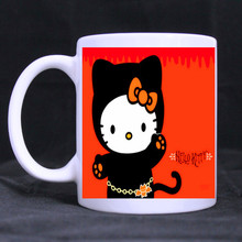 Dragon Ball Z Mug Taza SON Goku Heat Reactive Magic Color Changing Hello Kitty Mug Super Saiyan Caneca Coffee Cup