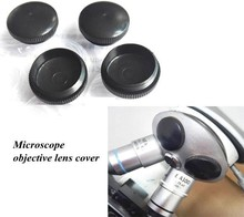 NEW Biological Microscope Objective Lens Dust Cover Universal Microscope Accessories(China)