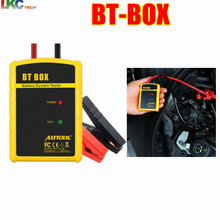 High Promotion !! Battery Tester AUTOOL BT BOX Support Android/ISO Powerful Function Automotive Battery Analyzer Diagnostic Tool