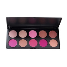 Hot Selling Arrival 10 Color Makeup Cosmetic Blush Blusher Powder Palette Make Up Palette Set maquiagem makeup Palette