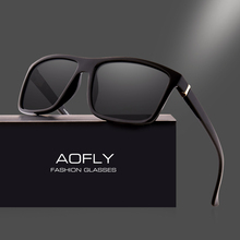 Buy AOFLY BRAND DESIGN Polarized Sunglasses Men Square Frame Sun Glasses Women Vintage Retro Goggles Eyewear Gafas UV400 AF8066 for $9.61 in AliExpress store