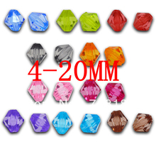 Buy Wholesale Acrylic Charm Bubblegum Chunky Beads Faceted Bicone Spacer Beads 4/6/8/10/12/14/16/18/20mmFor Fashion Jewelry Making for $4.91 in AliExpress store