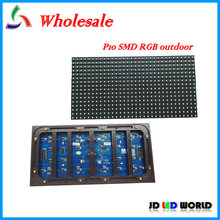 P10 outdoor waterproof  SMD RGB 3in1full color video LED display screen module 320MM*160MM