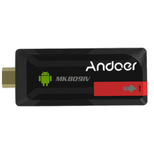 ES Stock!!! MK809IV Mini PC TV Dongle Stick Android 4.4 Quad Core RK3188T 2G/16G XBMC Bluetooth 4.0 DLNA WiFi EU Plug(China)