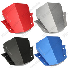 Motorcycle Parts Aluminum Upper Headlight Top Mount Cover Panel Fairing For Yamaha FZ-09 FZ09 2014 2015 2016(China)