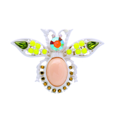 Wholesale Colorful Cute Insect Brooch Pins 2017 Designer Jewelry Ali express Cheap Fashion Brooches for Women(China)