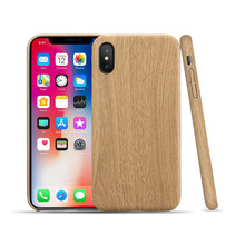 Soft Wood Case for IPhone X 10 6 7 8 Plus 5 5S SE Cover Leather PU Wood Business Case Coque Fundas Thin Slim Cases Protector(China)