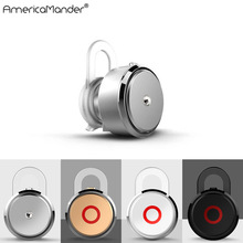 Mini Style Wireless Bluetooth Earphone Phone bluetooth headset S007 Headphone V4.1 With Micro For Iphone IOS Mobile Phone PC