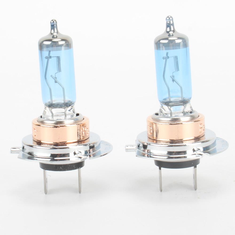 For BMW 3 Series E30 55w Super White Xenon High Main Beam Headlight Bulbs Pair