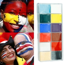 Beauty Fashion Body Art Children Adult Festival Face Painting Craft Kit For Halloween Carnival Celebration Party 160922