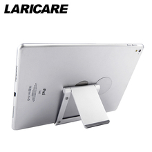 Laricare Tablet Accessories Tablet Phone Stand Stable Aluminium Anti-Slip Fold-able Mobile Phone Holder TS-01(China)