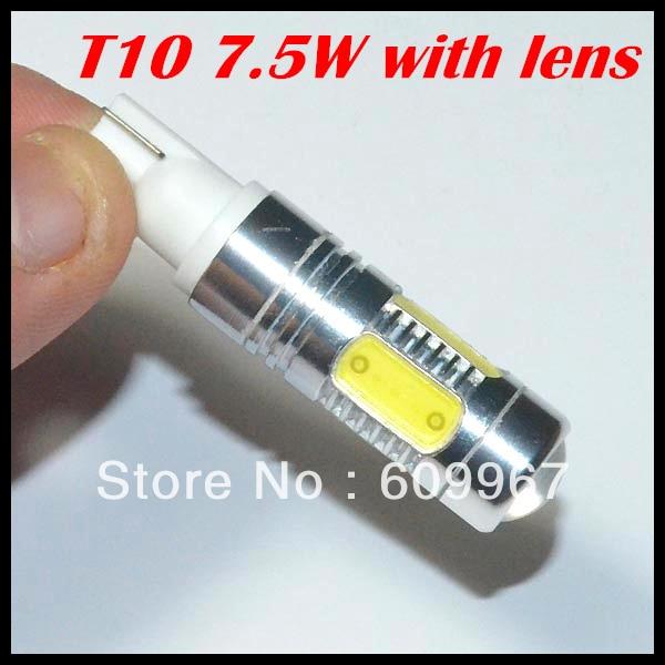 Free shipping 2pcs/lot 168 bulb t10 7.5w higt power 194 W5W t10 7.5W LED Reverse Light, W5W CREE Back Lamp<br><br>Aliexpress