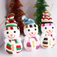 Christmas Snowman Doll Christmas tree Christmas ornaments accessories decorative Snowman gift wholesale