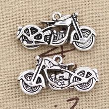 99Cents 2pcs Charms motorcycle motorcross 34*16mm Antique Making pendant fit,Vintage Tibetan Silver,DIY bracelet necklace