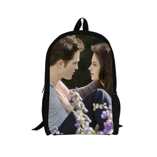 Hot sale! twilight backpack bag,fashion design back pack,cartoon children kids backpack backbag TV series free shipping(China)
