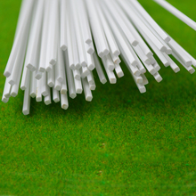 3mm architectural model making  DIY sand table model material model  ABS Square rod  sticks plastic solid rod