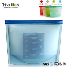 WALFOS Silicone Fresh Bags Food saver Sealing Storage bag Organization kitchen Gadgets cooking tools Accessories Supplies(China)