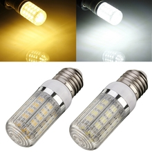 The Best Price Outdoor Dimmable E27 Base Warm Pure White 7W 36 5050 SMD LED Corn Light Bulb Lamp w/Cover