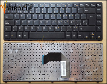 Laptop Keyboard For COMPAL QAL30 QAL31 SP Spanish layout Notebook keyboard Black P/N:2B-03610C230 PK130LJ1D21 100% Original New