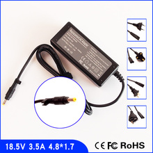 18.5V 3.5A Laptop Ac Adapter Power SUPPLY + Cord for HP Compaq ZE2000 ZE2100 ZE2200 ZE2300 ZE2400 ZE4900 TX2500 TX2500Z(China)