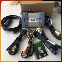 in Stock Item 12/24v MB STAR C3 OBD2 Scanner MB STAR C3 for Mercedes Benz car truck diagnostic tool with HDD software(China)